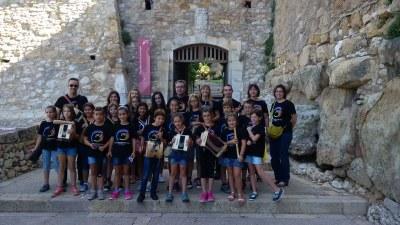 Participació de l'EMMT a Santa Tecla 2015