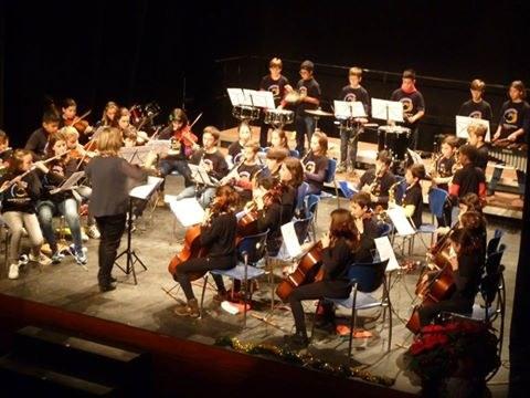 Concert de Nadal de l'Escola Municipal de Música al Teatre Metropol
