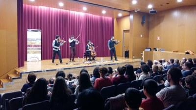 L'Escola Municipal de Música celebra Santa Cecília