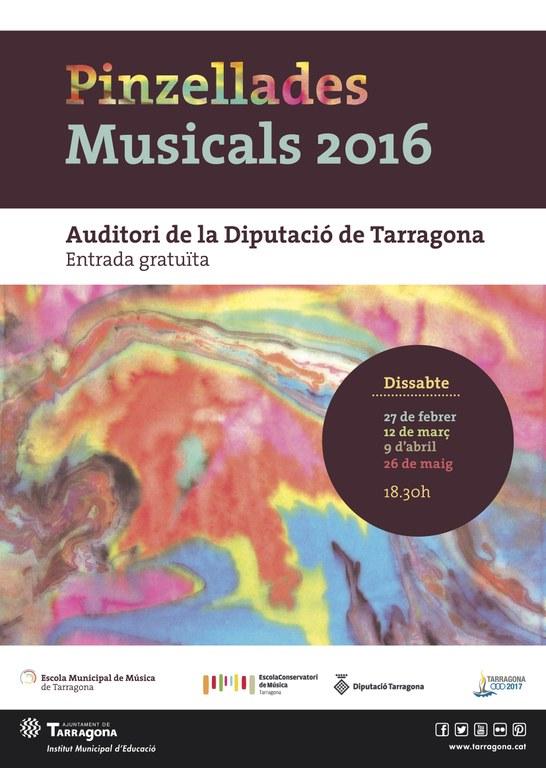 Pinzellades Musicals 2016, XIII edició