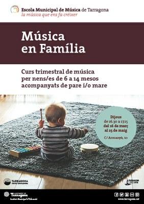 Música en família, nou curs per a nadons a l'EMMT