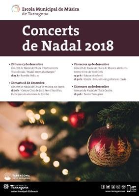 Concerts de Nadal a l'Escola Municipal de Música