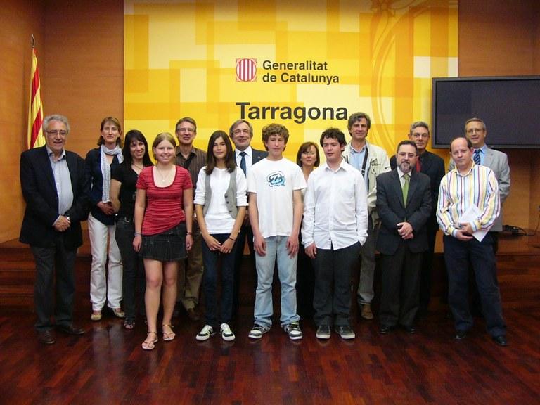 Dos escolars de Tarragona, guardonats en el concurs FEM Matemàtiques
