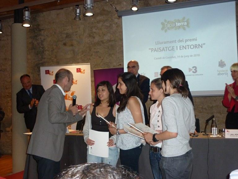 Les Teresianes reben un premi de TV3