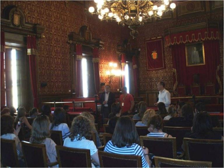 Els estudiants d'Orleans retornen la visita  a Tarragona