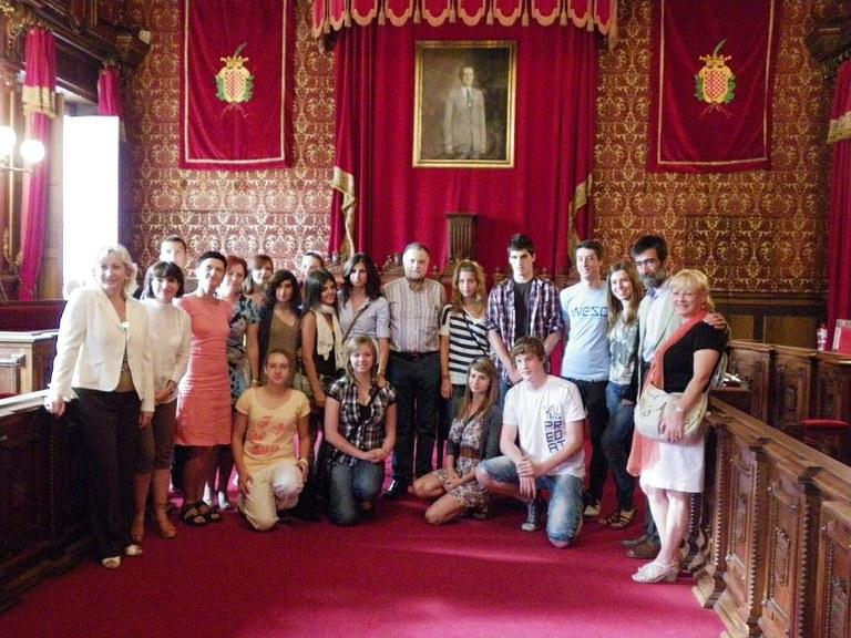 Estudiants de Wroclaw visiten Tarragona