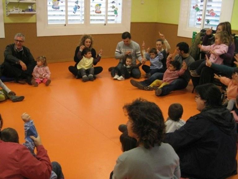 L'alcalde de Tarragona visita la Llar d'Infants Municipal de Bonavista
