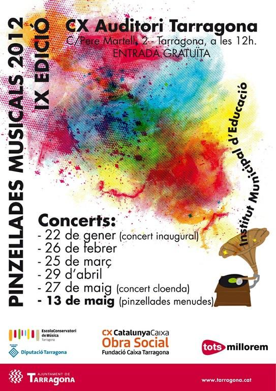Diumenge se celebra el concert inaugural de 'Pinzellades Musicals 2012'