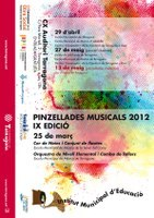 Èxit del tercer concert de les 'Pinzellades musicals'
