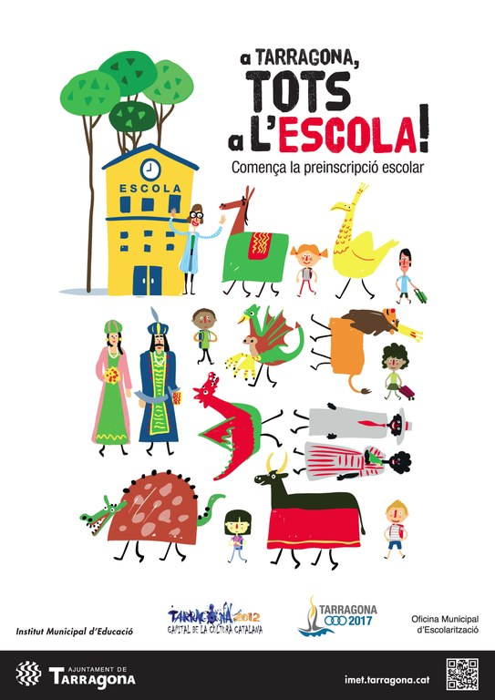 Comença la preinscripció i matriculació del curs 2012-2013 per Educació Infantil, Primària i ESO
