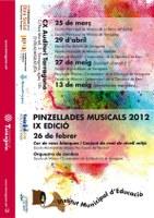 """Segon concert d'enguany de """"Pinzellades musicals 2012"""""""