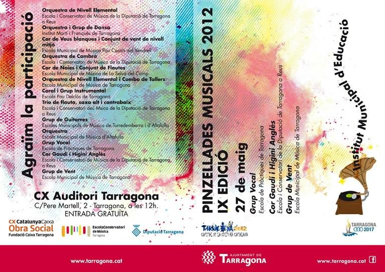 Concert de clausura de les Pinzellades Musicals 2012