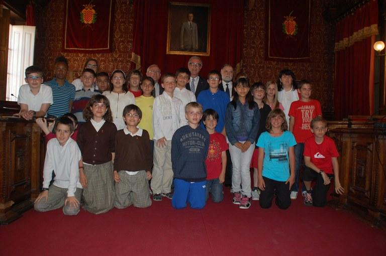 El Consell Municipal d'Infants es reuneix amb motiu del Dia d'Europa