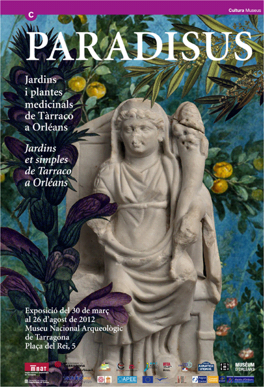 """Inauguració de l'exposició """"Paradisus, jardins i plantes medicinals de Tàrraco a Orleans"""""""