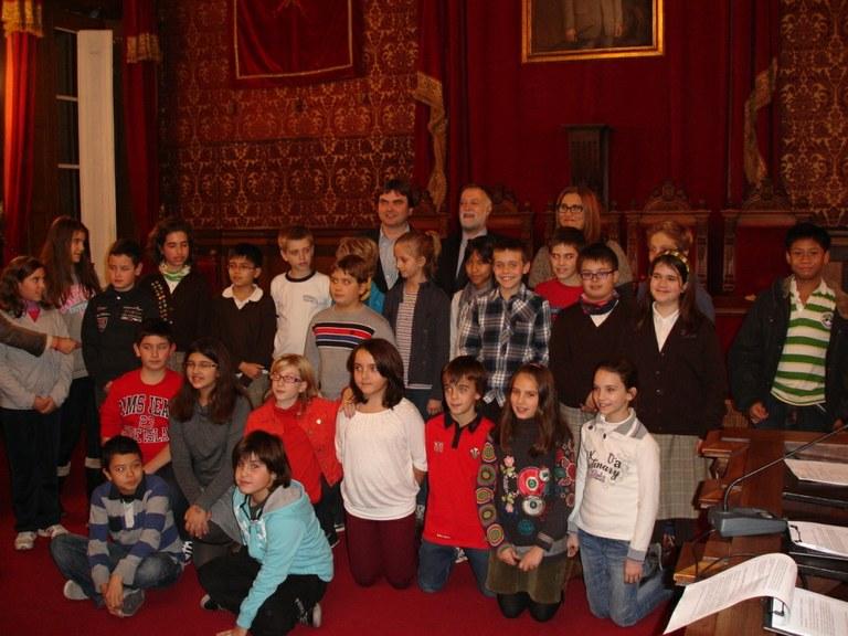 Primer plenari del Consell Municipal dels Infants de Tarragona del curs 2012-2013