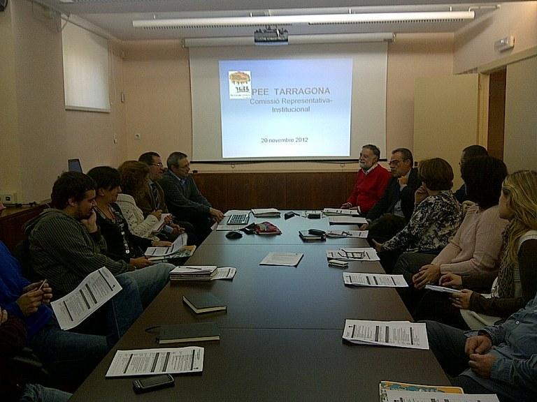 S'ha constituit la comissió representativa del Pla Educatiu d'Entorn de Tarragona