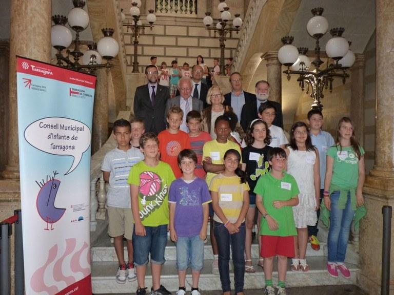Trobada del Consell Municipal d'Infants amb l'eurodiputada Sra. Maria Badia