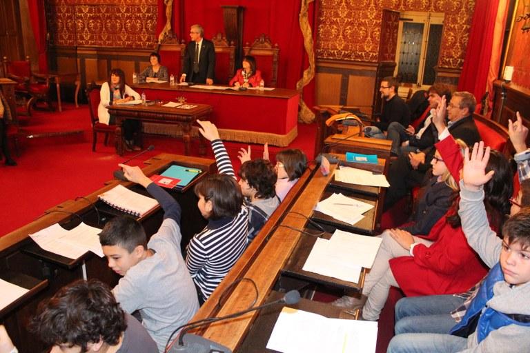 Demà se celebra el primer Consell Municipal d'Infants d'aquest curs