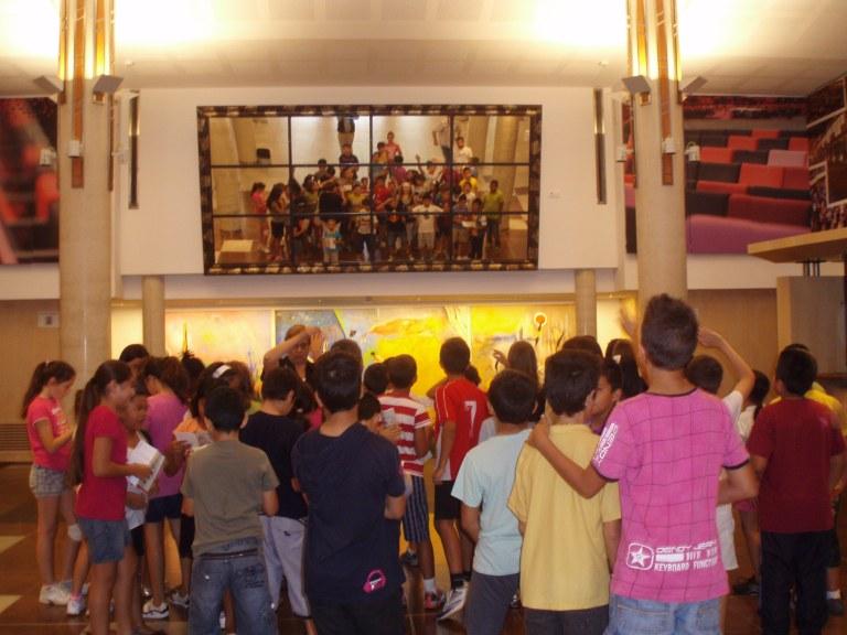 Els centres educatius visiten el nou Teatre Tarragona