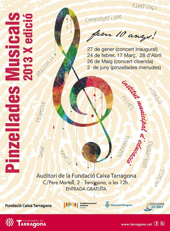 "Comencen les ""Pinzellades Musicals 2013"""