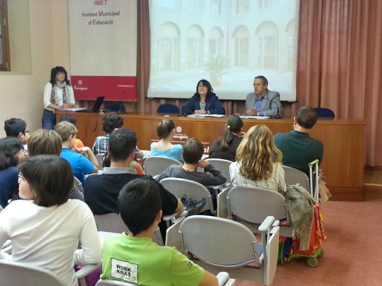 Primera reunió del Consell Municipal d'Infants de Tarragona
