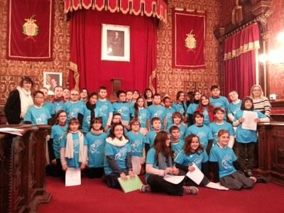 Dimecres va tenir lloc el primer Consell Municipal d'Infants del curs 2014-2015