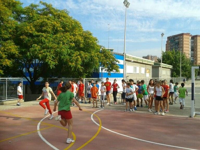 Final de curs esportiu a l'Escola Sant Pere i Sant Pau