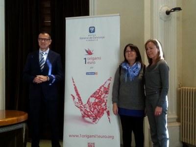 L'Arbre dels Desitjos d'enguany se suma a la iniciativa solidària dels origamis