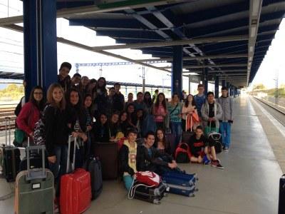 L'IES Torreforta viatja a Salamanca amb motiu del programa d'intercanvi Aula Patrimoni