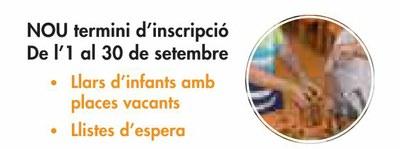 Obert un nou període d'inscripció a les Llars d'Infants Municipals