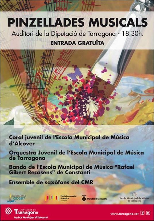 Dissabte se celebrarà el segon concert de les Pinzellades Musicals