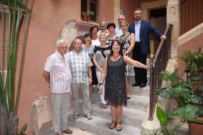 Una delegació de Mikolów (Polònia) visita Tarragona pel Programa Educatiu Europeu Comenius Regio