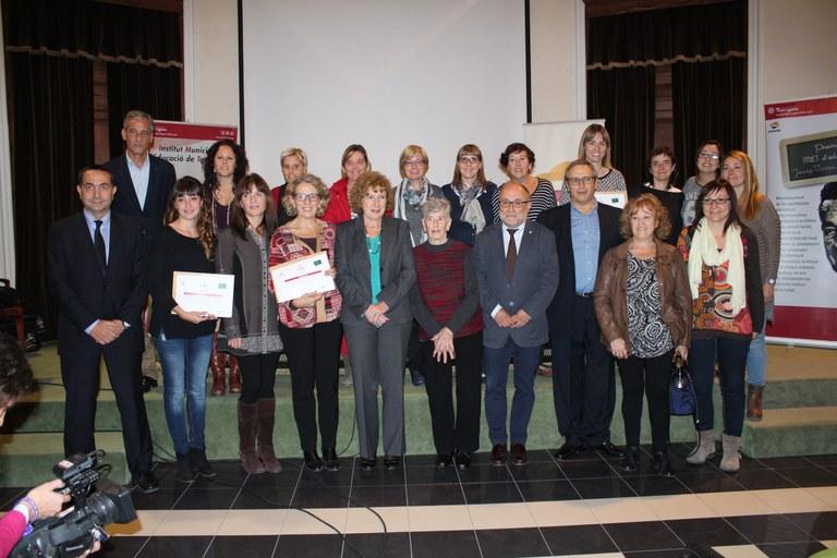 """Ahir es van lliurar els IV Premis IMET d'Educació """"Josep Vives Ciurana"""""""