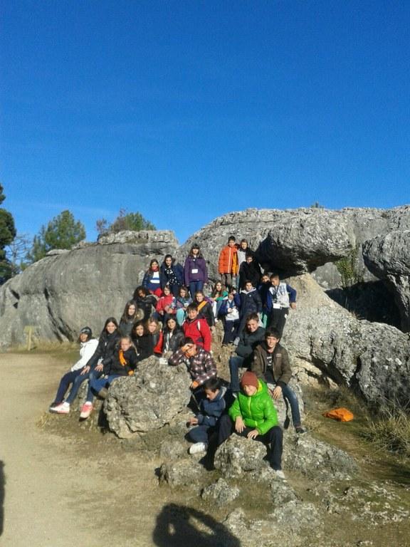 El Projecte Educatiu de Ciutat porta a l'Escola de Pràctiques  a Cuenca.
