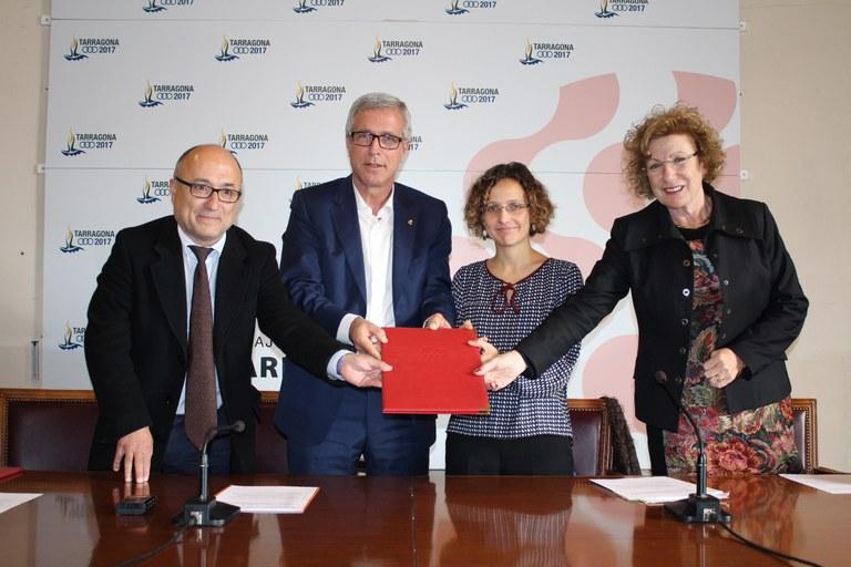Generalitat i l'Ajuntament treballaran l'absentisme Escolar a la ciutat de Tarragona