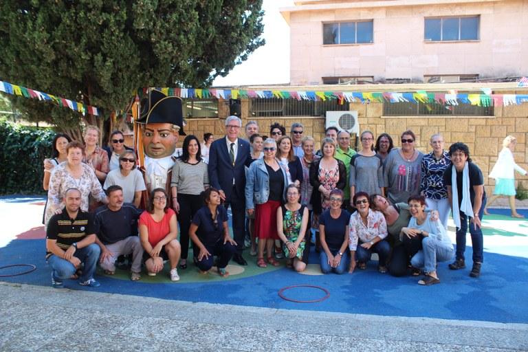 L'alcalde Ballesteros pregona la festa major de l'Escola Solc