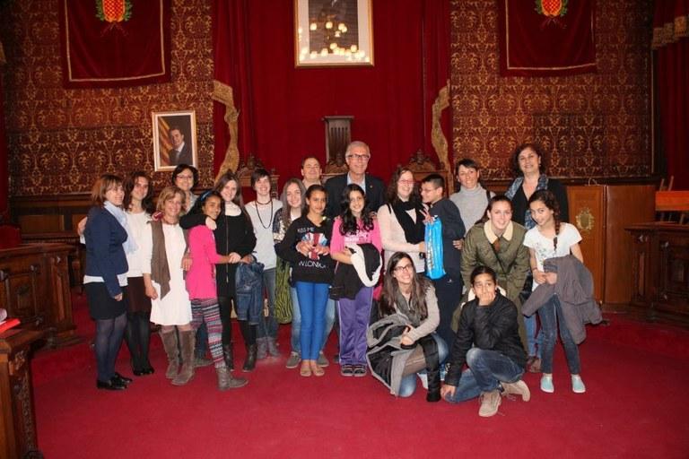 L'alcalde de Tarragona ha rebut els participants del Projecte Rossinyol