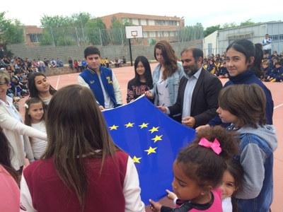 L'escola Joan XXIII celebra el Dia d'Europa