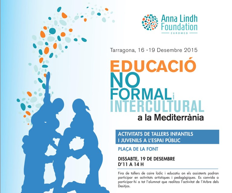 """Trobada Intercultural sobre """"L'educació no formal i intercultural a la Mediterrània"""""""