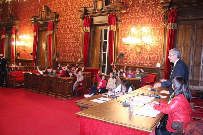 Darrera reunió del Consell Municipal d'Infants