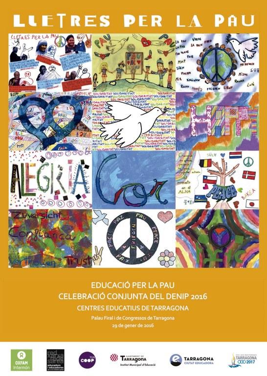Demà se celebrarà el Dia Escolar de la No-violència i la Pau