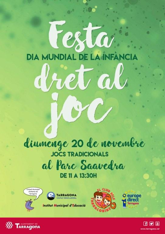 El parc de Saavedra acull la celebració del dia mundial de la infància