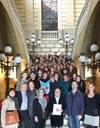 Estudiants alemanys visiten l'Ajuntament