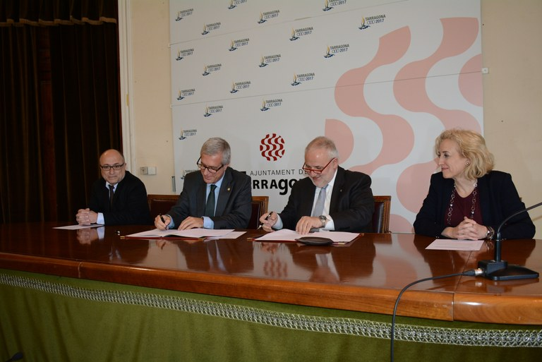 La UOC i l'Ajuntament de Tarragona faran activitats científiques, acadèmiques i culturals en xarxa