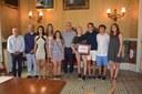 L'Ajuntament distingeix amb un diploma a Patricia Torres Ravés