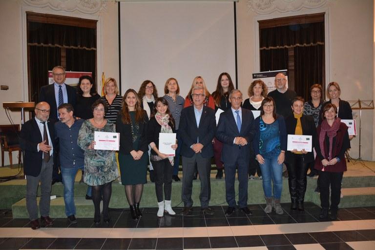 """LLiurament dels V Premis IMET d'Educació """"Josep Vives Ciurana"""""""