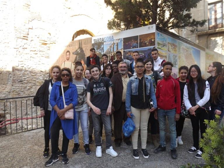 Orléans i Tarragona, ciutats agermanades en educació