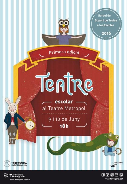 Sis escoles participen al primer festival de Teatre Escolar de Tarragona