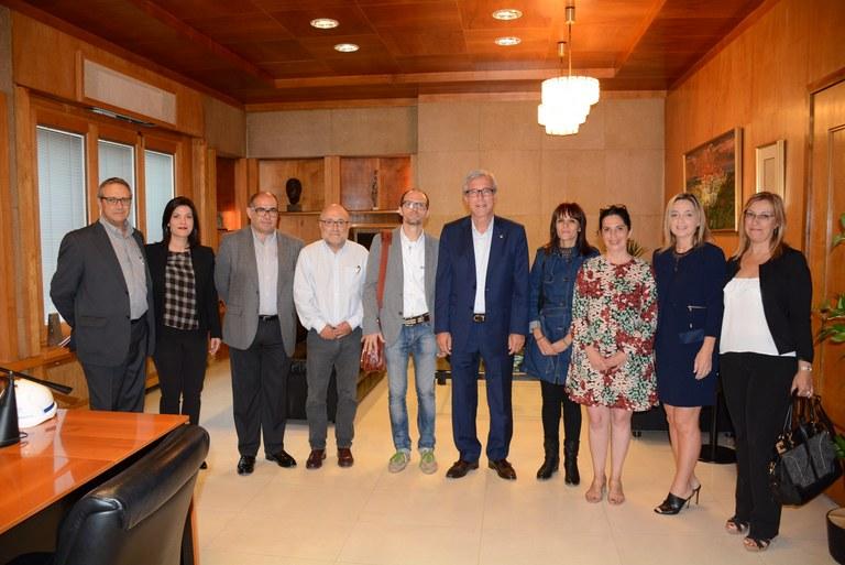 Visita d'UNICEF per avaluar la nominació de Tarragona com a Ciutat Amiga de la Infància