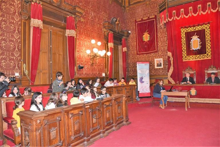 El Consell Municipal d'Infants de Tarragona  celebra la primera sessió del curs escolar 2019-2020